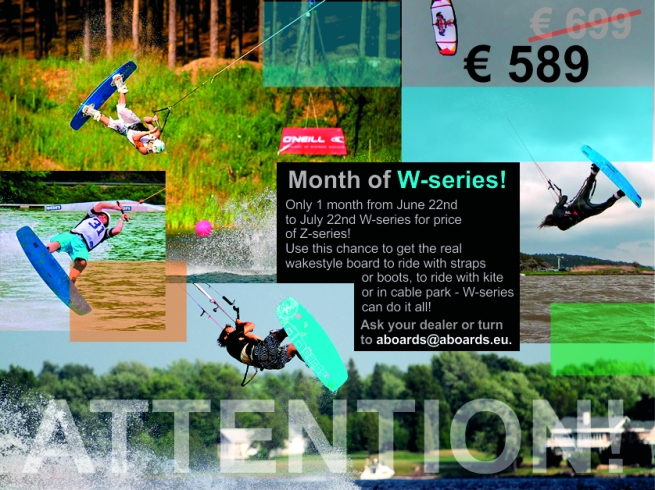 special offer for wakestyle cable board W-series