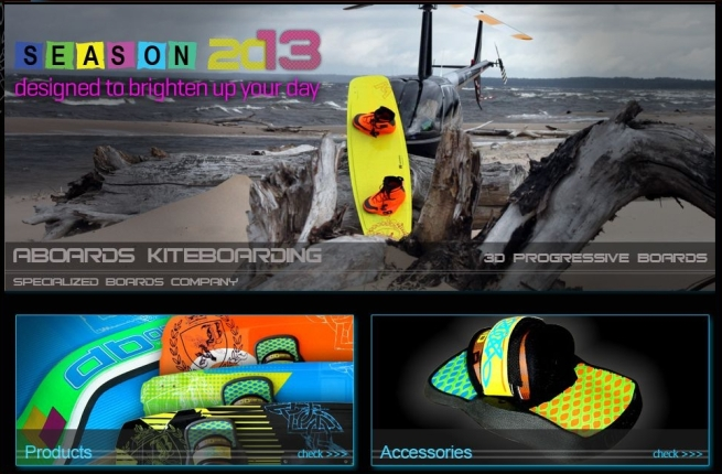 Aboards Kiteboarding collection 2013